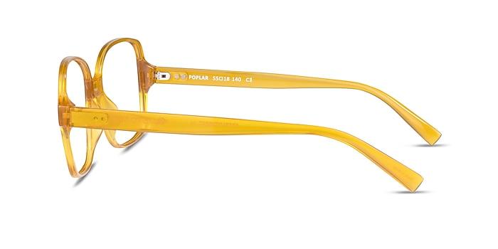 Poplar Clear Yellow Plastique Montures de lunettes de vue d'EyeBuyDirect