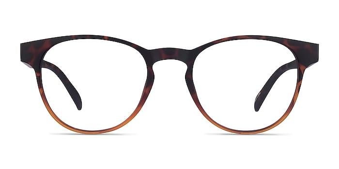 Osier Matte Trotoise Brown Plastic Eyeglass Frames from EyeBuyDirect