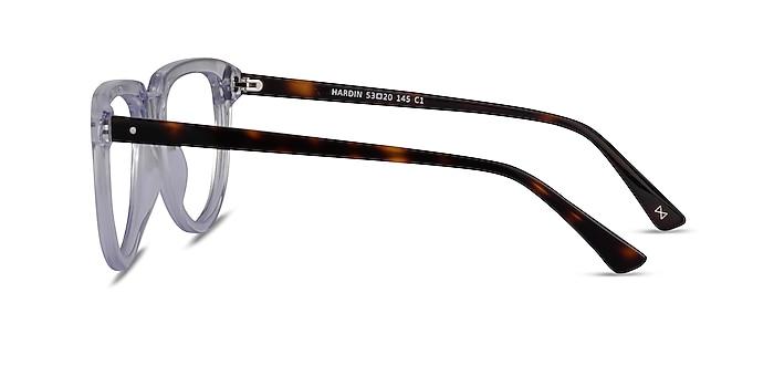 Hardin Clear Tortoise Acetate Eyeglass Frames from EyeBuyDirect