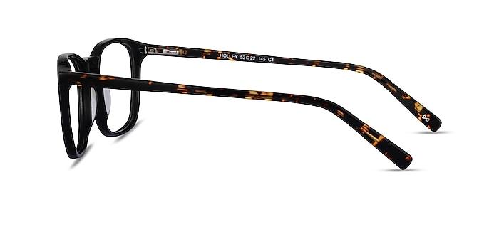 Holley Black Tortoise Acetate Eyeglass Frames from EyeBuyDirect