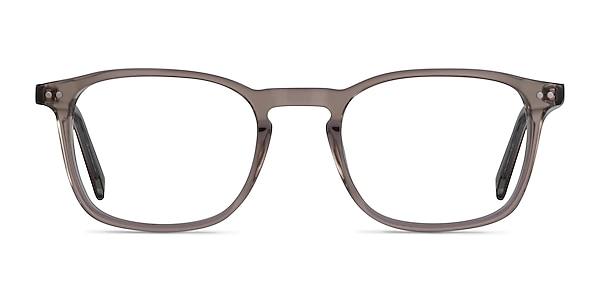 Holley Clear Brown Acetate Eyeglass Frames