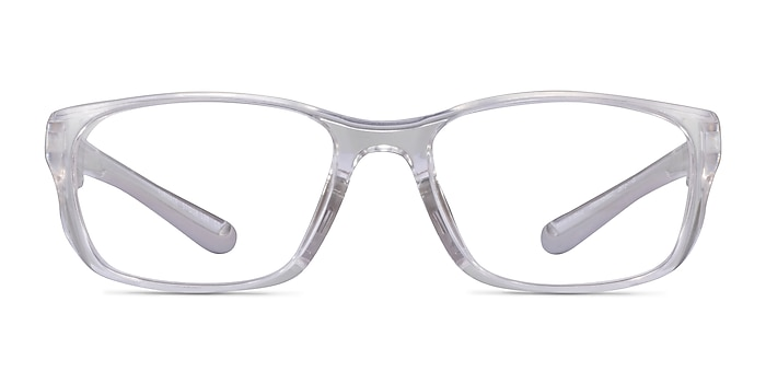 Furnace Clear Gray Plastic Eyeglass Frames from EyeBuyDirect