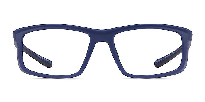 Drill Navy Black Plastic Eyeglass Frames from EyeBuyDirect