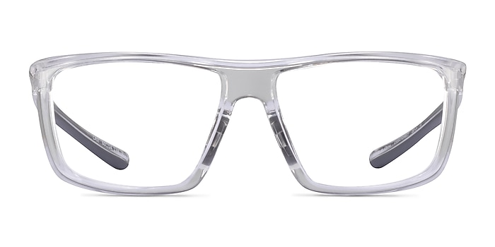 Cast Clear Gray Plastic Eyeglass Frames from EyeBuyDirect