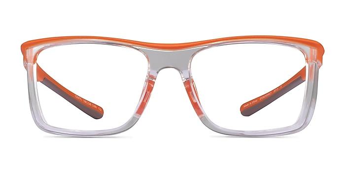 Ignite Orange Clear Plastic Eyeglass Frames from EyeBuyDirect