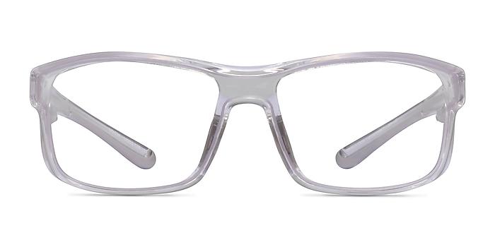Molten Clear Gray Plastic Eyeglass Frames from EyeBuyDirect