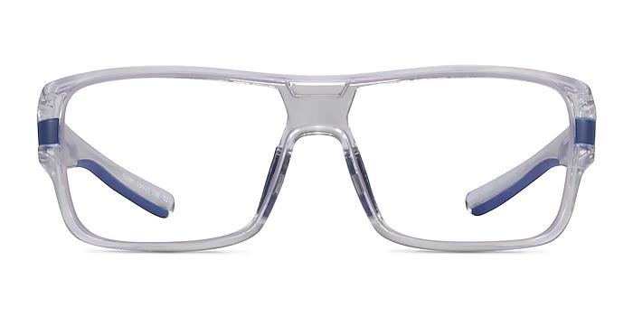 Flash Clear Blue Plastic Eyeglass Frames from EyeBuyDirect