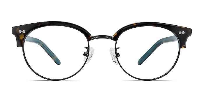 Annabel Tortoise Acetate-metal Eyeglass Frames from EyeBuyDirect