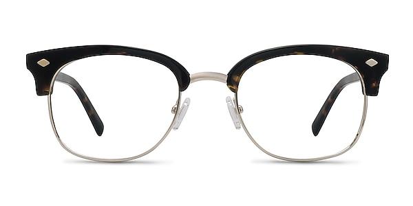 Japan Morning  Dark Tortoise  Acetate-metal Eyeglass Frames