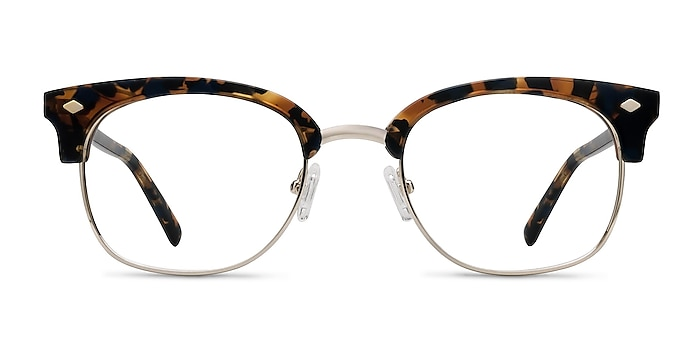 Japan Morning  Tortoise  Acetate-metal Montures de lunettes de vue d'EyeBuyDirect