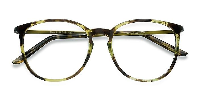 Tortoise Naomi -  Lightweight Plastic, Metal Eyeglasses