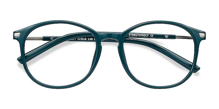 Green Lindsey -  Lightweight Plastic Eyeglasses