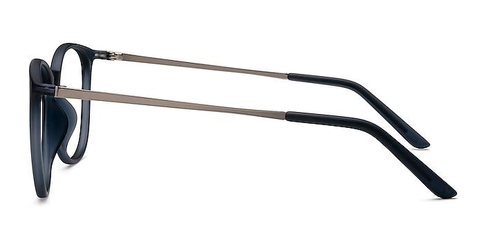 Naomi Matte Blue Plastic Eyeglass Frames from EyeBuyDirect