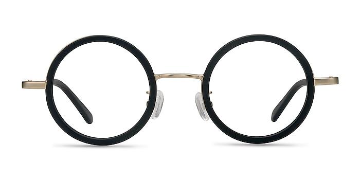Roaring Black Acetate-metal Eyeglass Frames from EyeBuyDirect