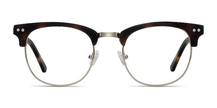 Borderline Tortoise Acetate-metal Eyeglass Frames from EyeBuyDirect
