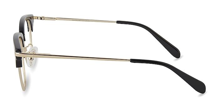Identity Black Acetate-metal Eyeglass Frames from EyeBuyDirect