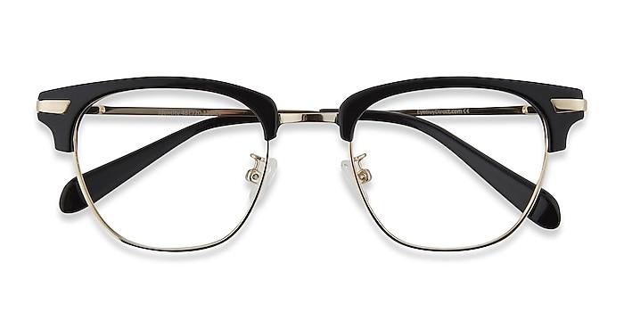 Black Identity -  Acetate, Metal Eyeglasses