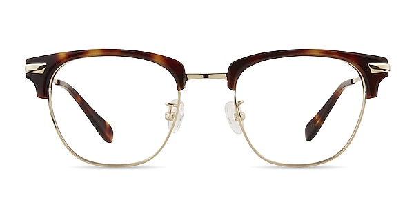Identity Tortoise Acetate-metal Eyeglass Frames
