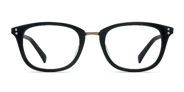 Synopsis Black Acetate-metal Eyeglass Frames