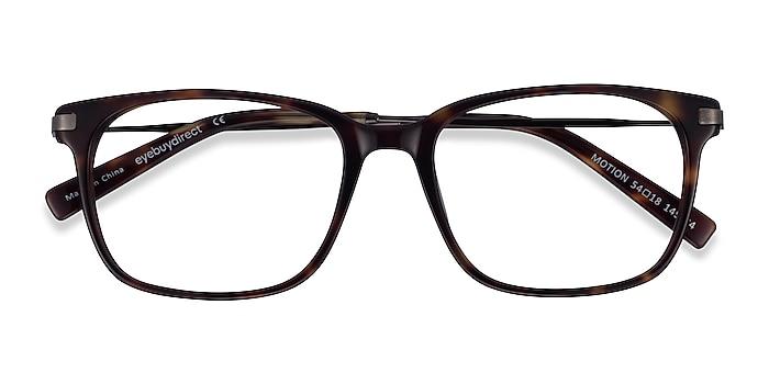 Tortoise Motion -  Acetate, Metal Eyeglasses