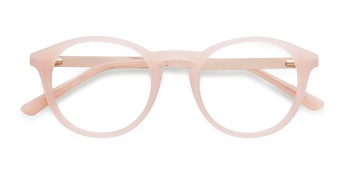 Pink White Moon -  Fashion Acetate, Metal Eyeglasses