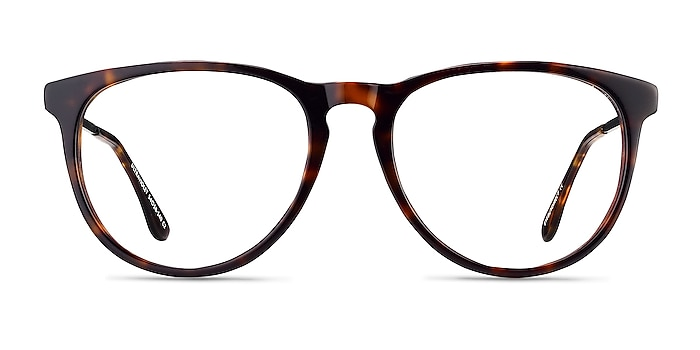 Ultraviolet Tortoise Acetate-metal Eyeglass Frames from EyeBuyDirect