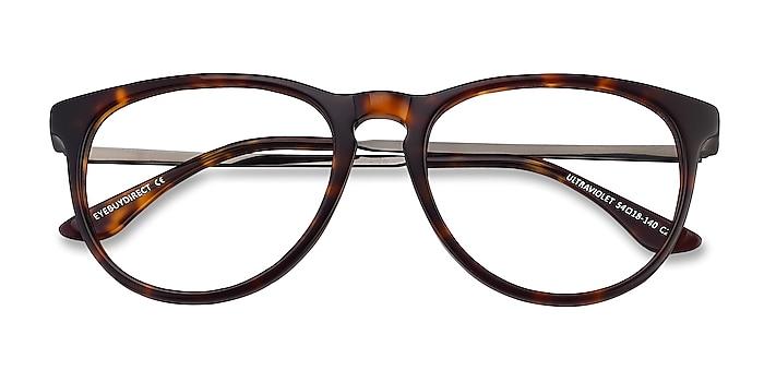 Tortoise Ultraviolet -  Acetate, Metal Eyeglasses
