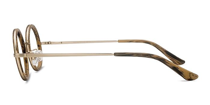 Roaring Marron Acetate-metal Montures de lunettes de vue d'EyeBuyDirect
