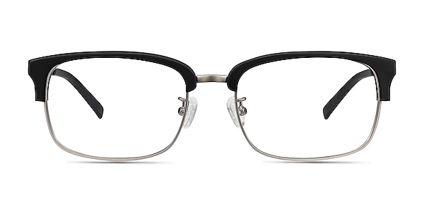 Wizard Black Acetate-metal Eyeglass Frames