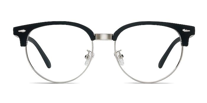 Narita Matte Black Plastic-metal Eyeglass Frames from EyeBuyDirect