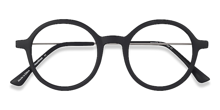 Matte Black Potter -  Classic Plastic, Metal Eyeglasses