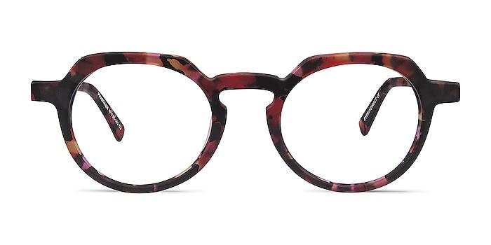 Phantasm Speckled rose Acetate-metal Eyeglass Frames from EyeBuyDirect
