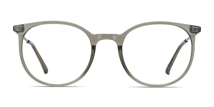 Marilou Clear Gray Plastic-metal Eyeglass Frames from EyeBuyDirect