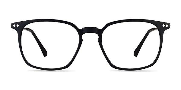 Ghostwriter Matte Black Plastic-metal Montures de lunettes de vue