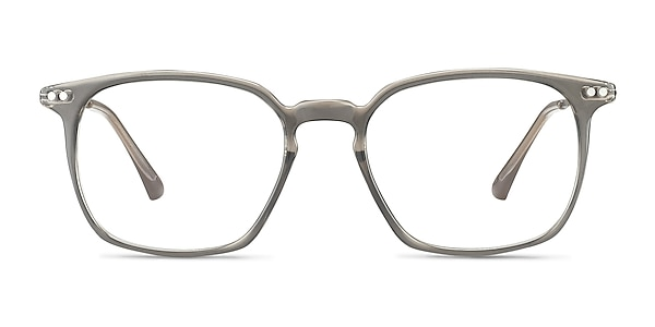 Ghostwriter Gray Plastic-metal Eyeglass Frames