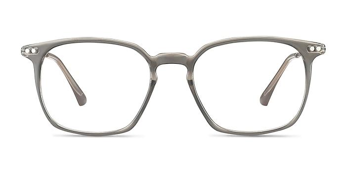 Ghostwriter Gray Plastic-metal Eyeglass Frames from EyeBuyDirect