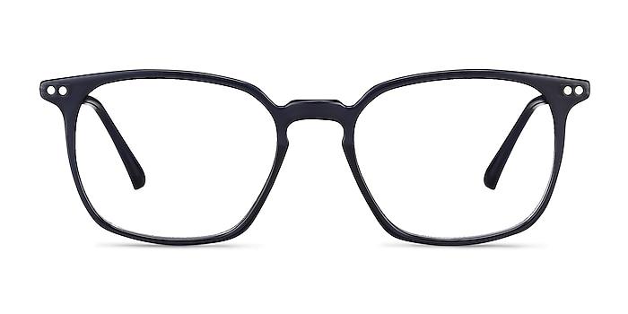 Ghostwriter Navy Plastic-metal Eyeglass Frames from EyeBuyDirect