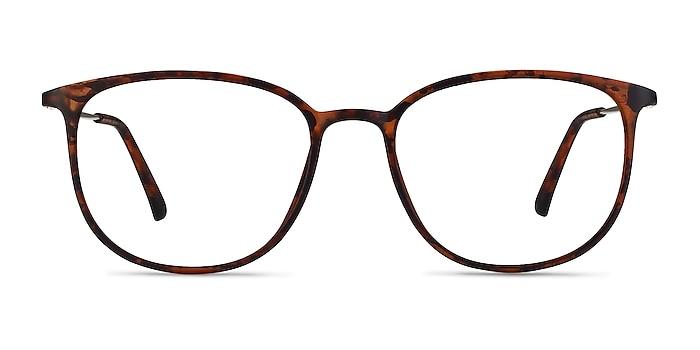 Strike Matte Tortoise Plastic-metal Eyeglass Frames from EyeBuyDirect
