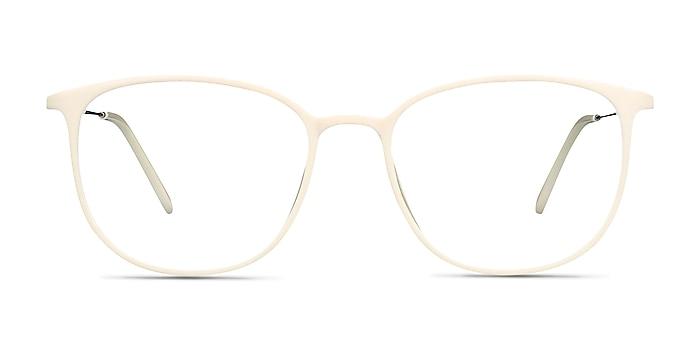 Strike white Plastic-metal Eyeglass Frames from EyeBuyDirect