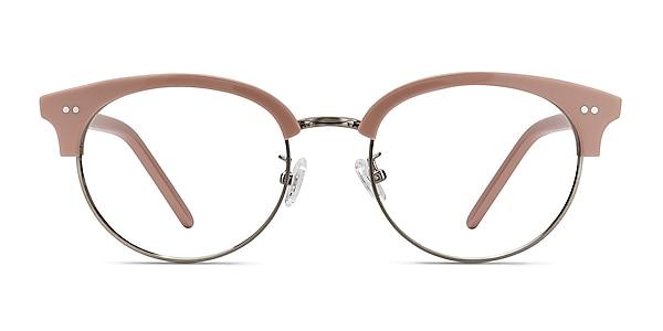 Annabel Pink Acetate-metal Eyeglass Frames