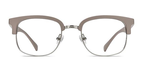Yokote Gray Plastic-metal Eyeglass Frames
