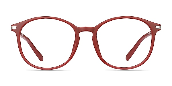 Lindsey Burgundy Plastic-metal Eyeglass Frames