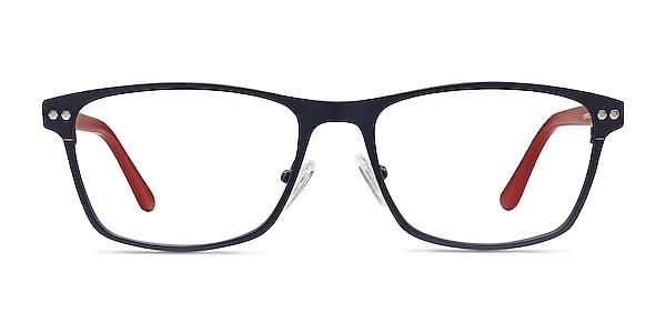 Comity Navy Acetate-metal Eyeglass Frames