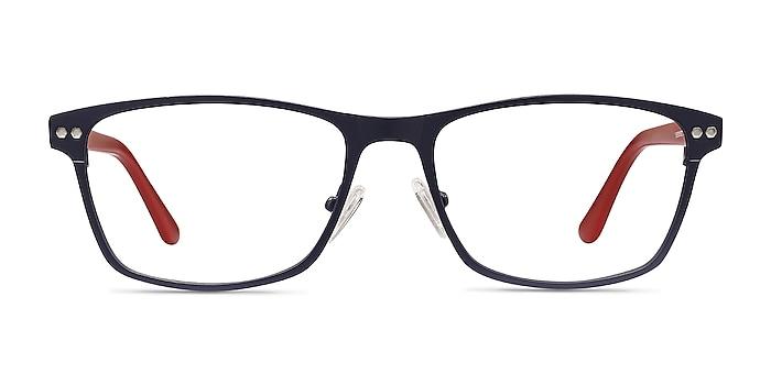 Comity Bleu marine  Acetate-metal Montures de lunettes de vue d'EyeBuyDirect