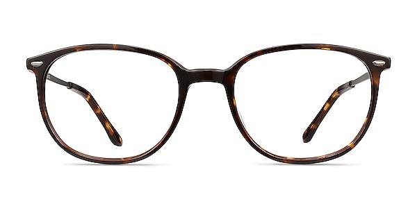 Eros Tortoise Acetate-metal Eyeglass Frames