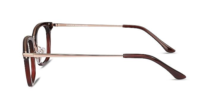 Candela Burgundy Acetate-metal Eyeglass Frames from EyeBuyDirect