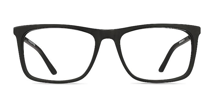 Instance Noir Acetate-metal Montures de lunettes de vue d'EyeBuyDirect