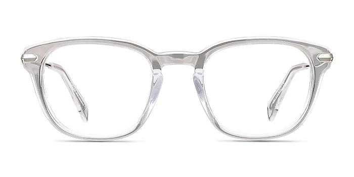 Quazar Clear Acetate-metal Eyeglass Frames from EyeBuyDirect