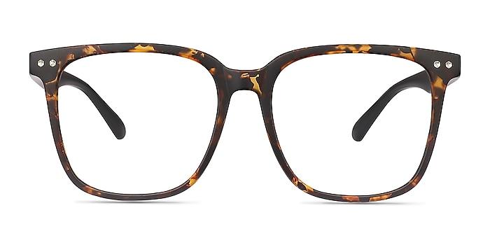 Piano Tortoise Plastic Eyeglass Frames from EyeBuyDirect