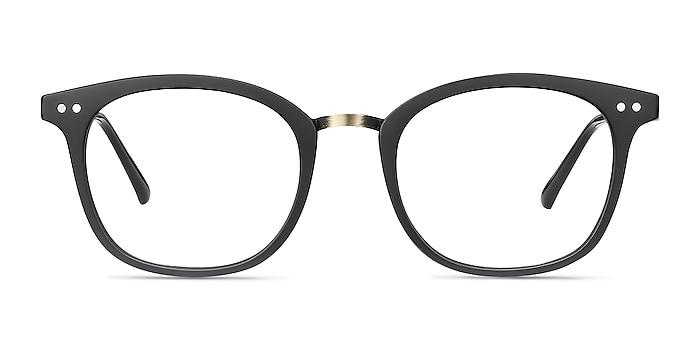 Lyric Black Plastic Eyeglass Frames from EyeBuyDirect